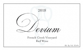 2018 Devium French Creek Red