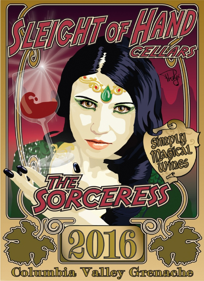"2016 ""The Sorceress"" Grenache 1500mL"
