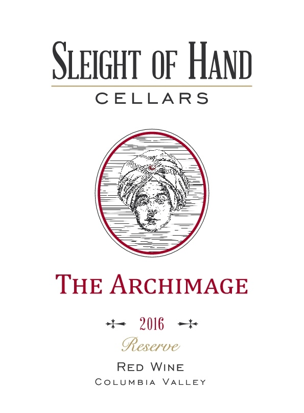 """2016 """"The Archimage"""" Red Blend 750mL"""