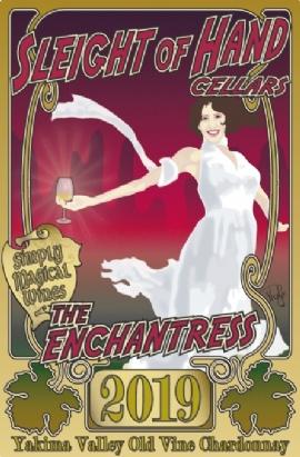 "2019 ""The Enchantress"" Chardonnay 750mL"