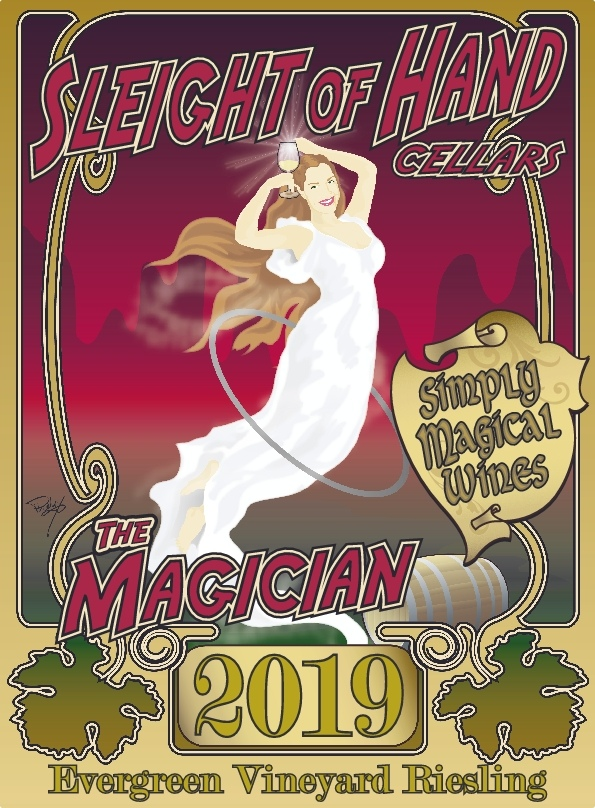 "2019 ""The Magician"" Riesling 750mL"