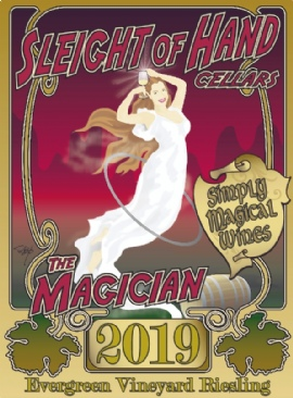 """2019 """"The Magician"""" Riesling 750mL"""