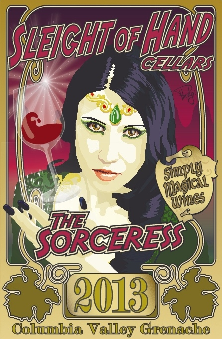"2013 ""The Sorceress"" Grenache 750mL"