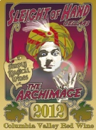 """2012  """"The Archimage"""" Red Blend Etched 3L"""