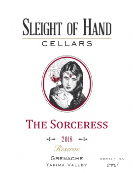 "2018 ""The Sorceress"" Grenache 750mL"