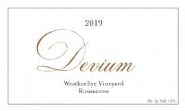 2019 Devium WeatherEye Roussanne