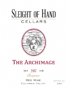 """2017 """"The Archimage"""" Red Blend 750mL"""