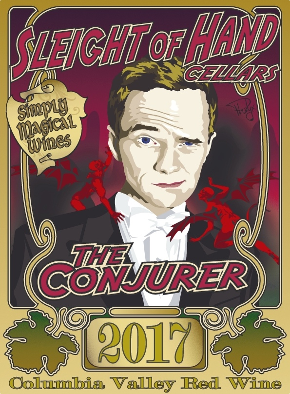 "2017 ""The Conjurer"" Red Blend 750mL"