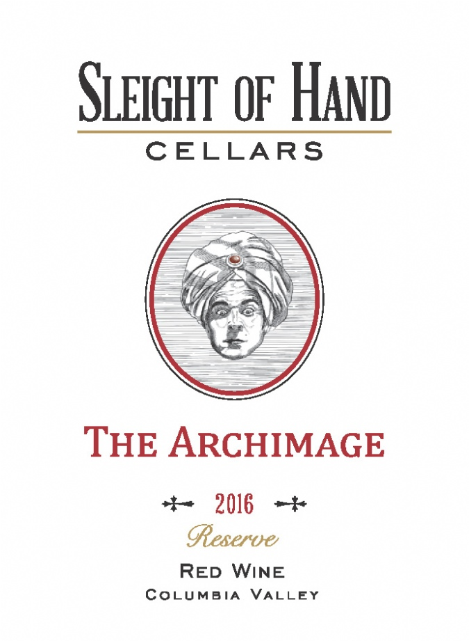"""2016 """"The Archimage"""" Red Blend 1500mL"""