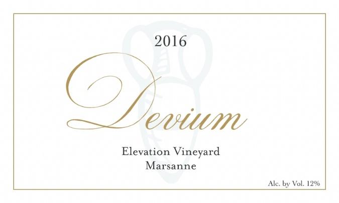2016 Elevation Marsanne - 12 Pack