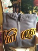 Vintology Hoodie Grey