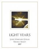 """2017 """"Light Years"""" Lewis Vineyard Syrah 750mL"""