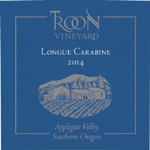 2014 Troon Blue Label Longue Carabine, Applegate Valley
