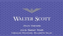 2018 Walter Scott Gamay Noir, Arlyn Vineyard<br>Chehalem Mountains, Willamette Valley