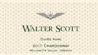 2017 Walter Scott Chardonnay, Cuvee Anne<br>Willamette Valley
