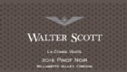 2018 Walter Scott Pinot Noir, La Combe Verte<br>Willamette Valley