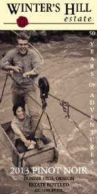 2013 Pinot Noir 50 Years of Adventures